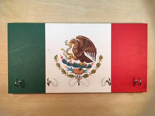 Mexico Flag Key Holder