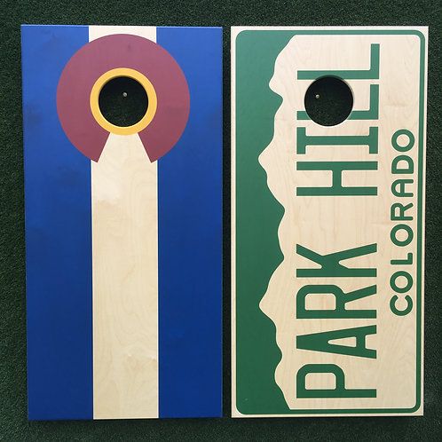Cornhole Game-Colorado Neighborhood Pride