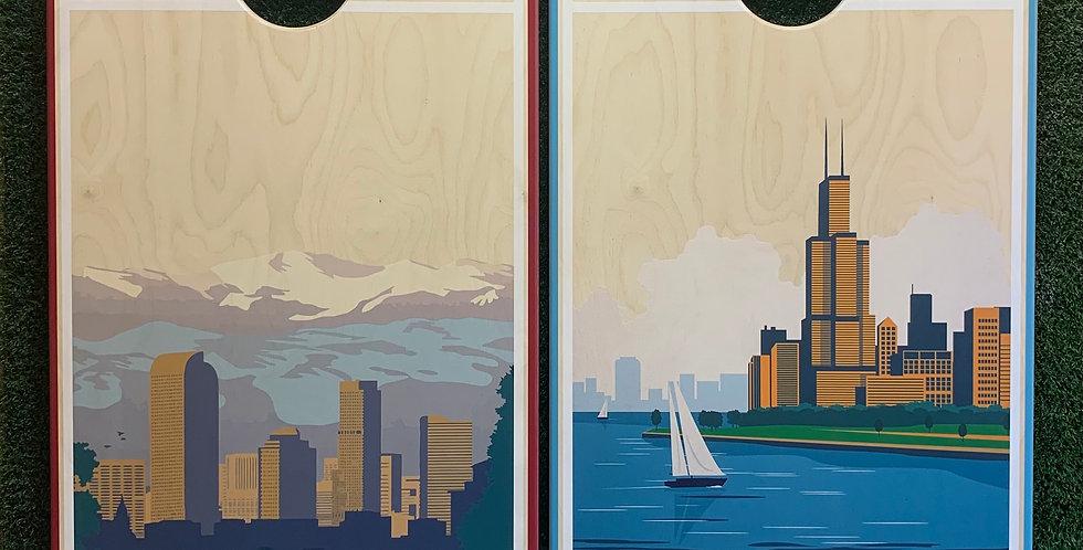 Cornhole Game-Denver and Chicago