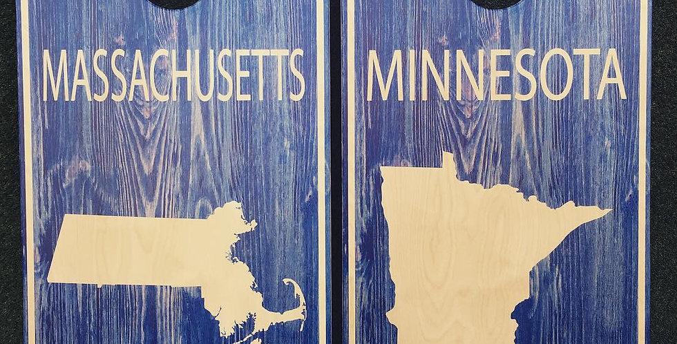 Cornhole Game-Minnesota and Massachusetts