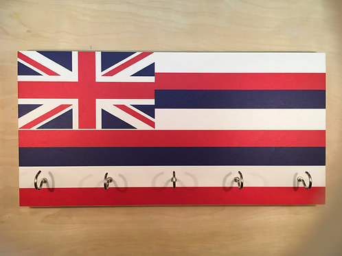 Hawaii Flag Key Holder