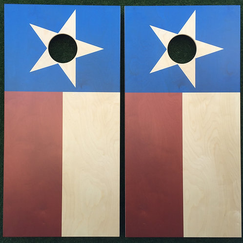 Cornhole Game-Classic Texas Flag