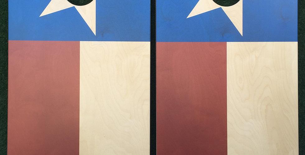 Cornhole Game-Classic Texas Flag