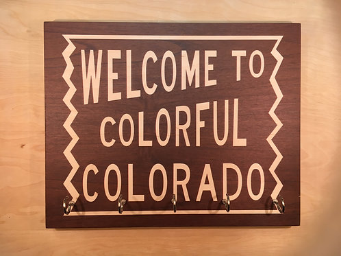 Welcome to Colorful Colorado Key Holder