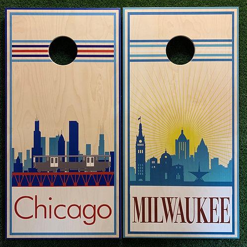 Cornhole Game-Milwaukee and Chicago