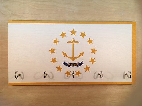 Rhode Island Flag Key Holder