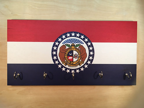 Missouri Flag Key Holder