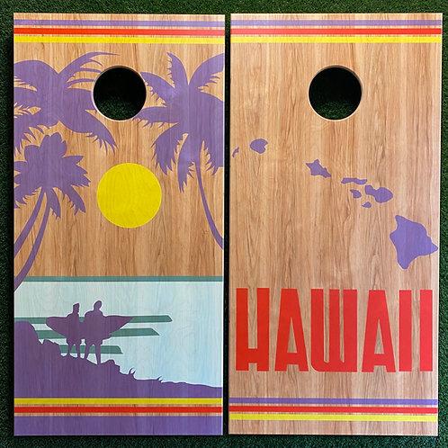 Cornhole Game-Hawaii Home State Pride