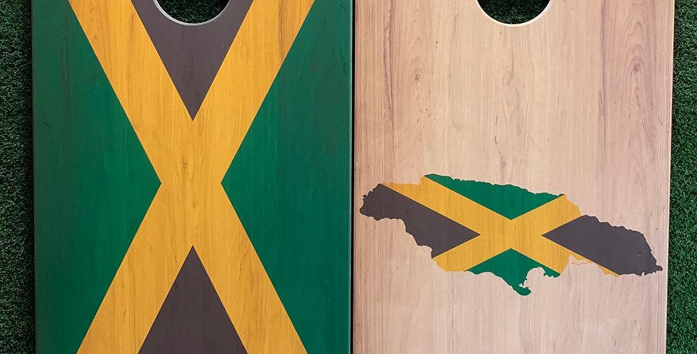 Cornhole Game-Jamaica Pride
