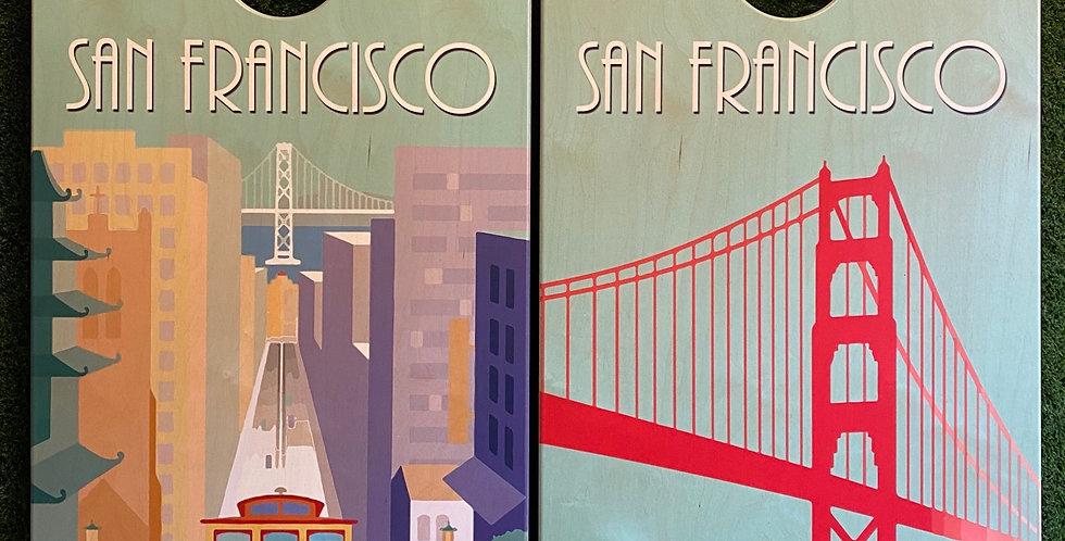 Cornhole Game-San Francisco