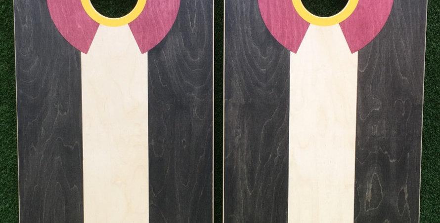 Cornhole Game-Black Palette