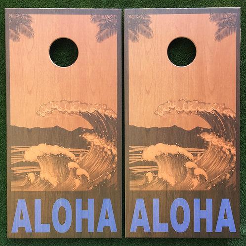Cornhole Game-Aloha Hawaii