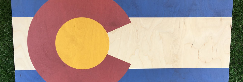 Colorado Flag Wall Hanging