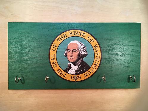 Washington Flag Key Holder