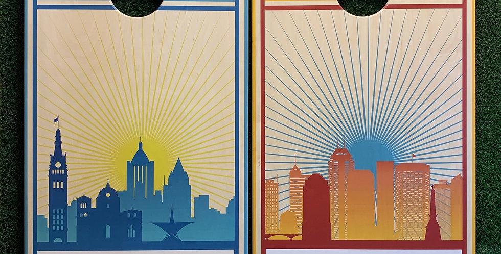 Cornhole Game-Milwaukee and Indianapolis