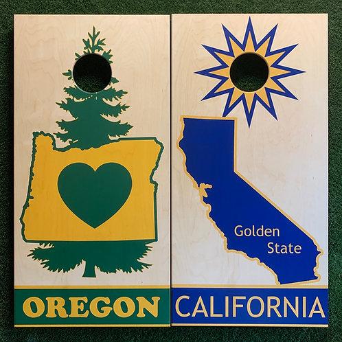 Cornhole Game-Oregon and California