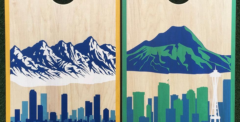 Cornhole Game-Colorado and Washington States