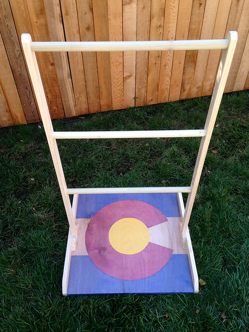 Colorado Flag Ladder Golf