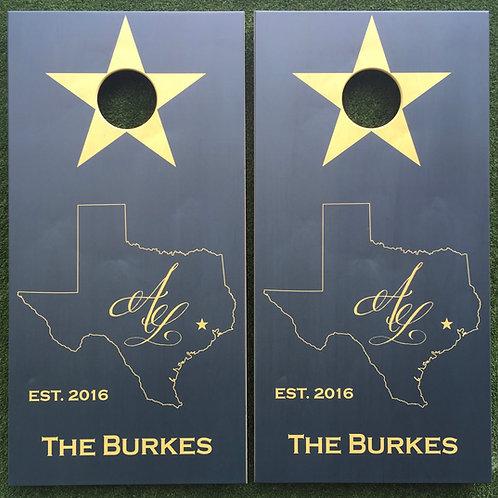 Cornhole Game-Customizable Texas