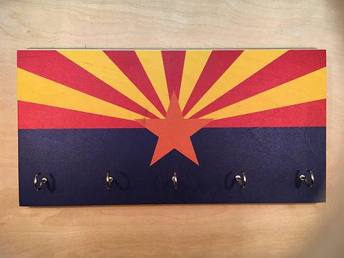 Arizona Flag Key Holder