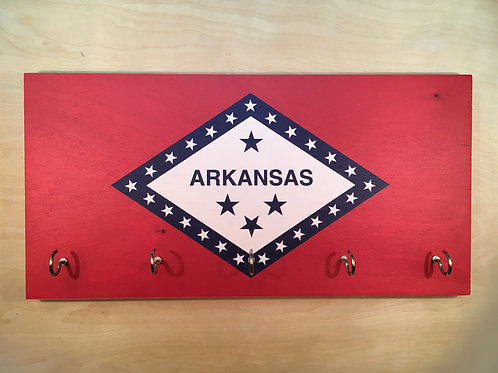 Arkansas Flag Key Holder