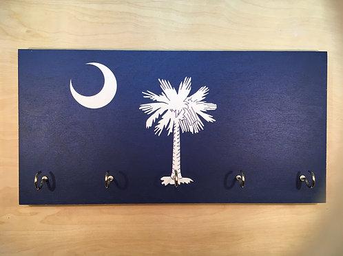 South Carolina Flag Key Holder