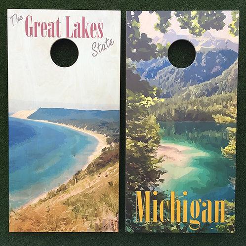 Cornhole Game-Michigan and Great Lakes