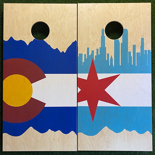 Cornhole Cornhole Game-Colorado and Chicago
