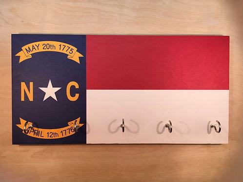 North Carolina Flag Key Holder