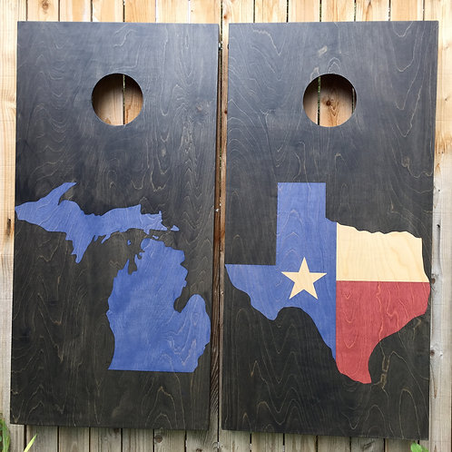 Cornhole Game-Two State Combination