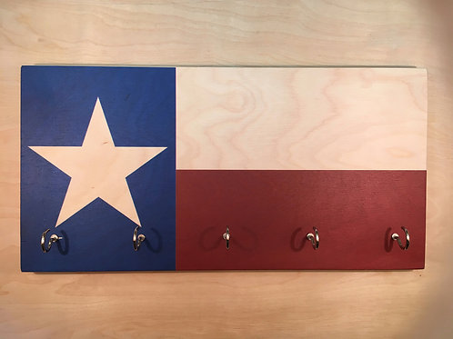 Texas Flag Key Holder