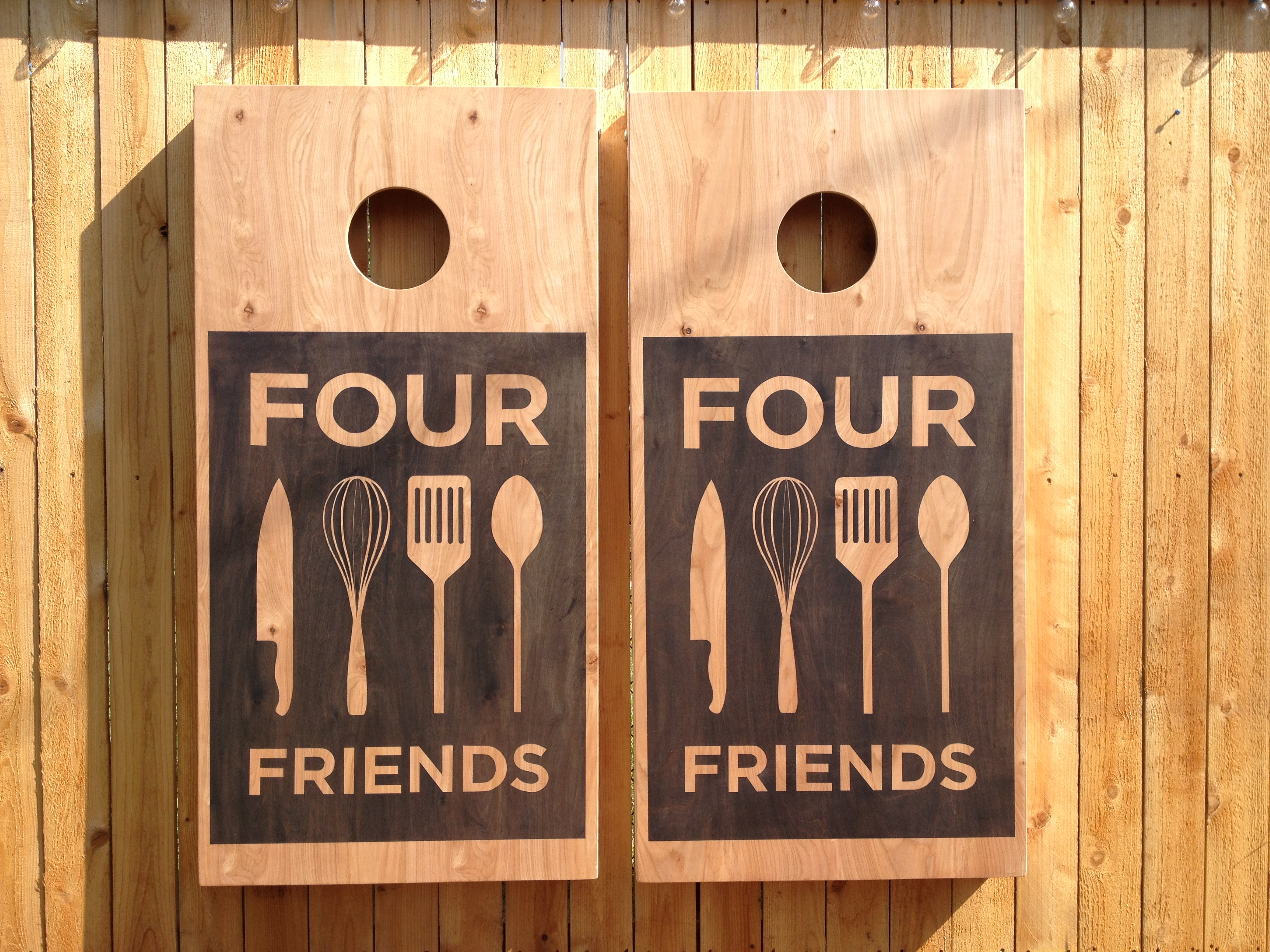 Four Friends Game