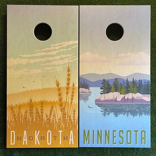Cornhole Game-North Dakota and Minnesota