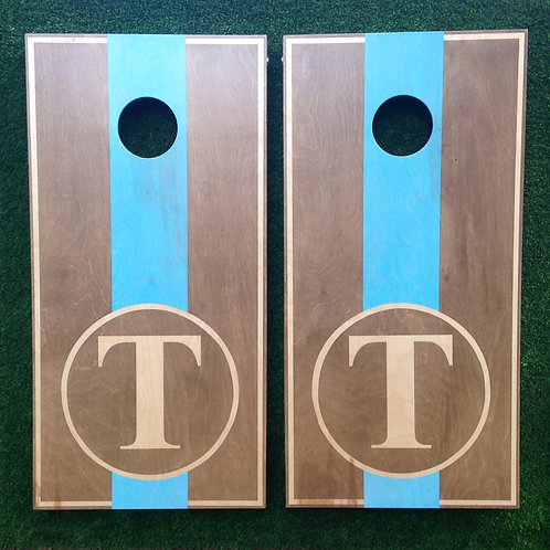 Cornhole Game-Wedding Monogram