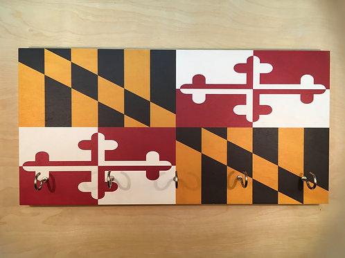 Maryland Flag Key Holder