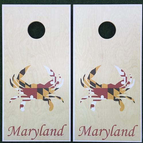 Cornhole Game-Maryland Crab Set