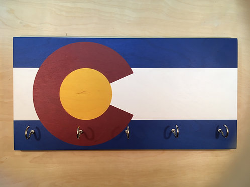 Colorado Flag Key Holder