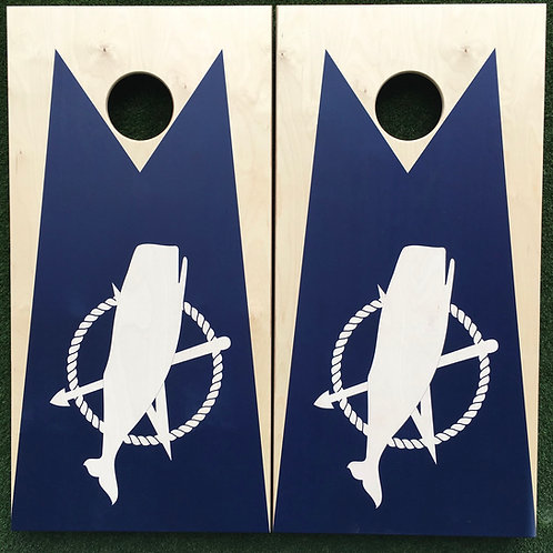 Cornhole Game-Nantucket Flag