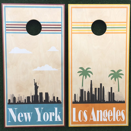Cornhole Game-New York and Los Angeles