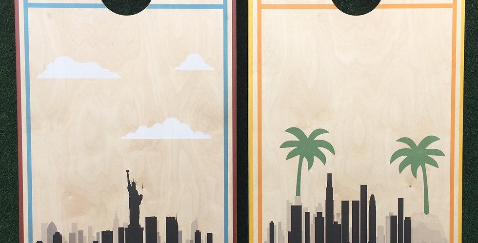 Cornhole Game-New York and Los Angeles