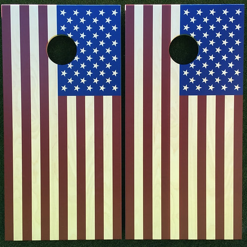 Cornhole Game-American Flag