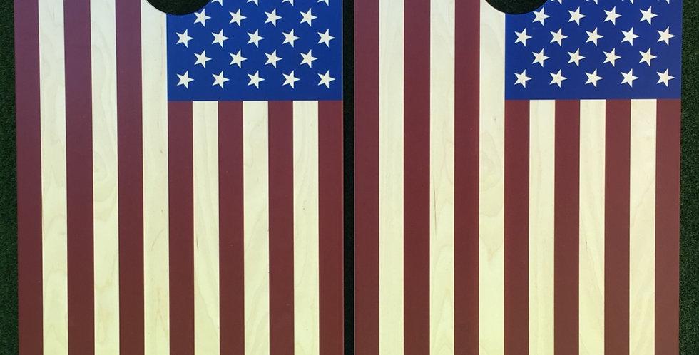 Cornhole Game-American Flag