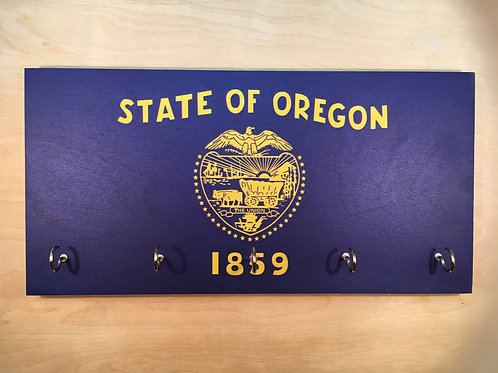 Oregon Flag Key Holder