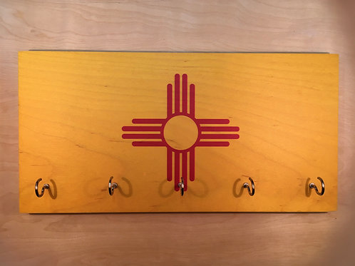New Mexico Flag Key Holder