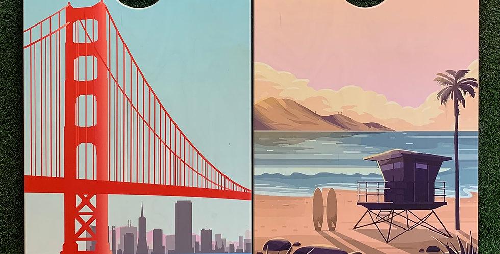 Cornhole Game-San Francisco and San Diego