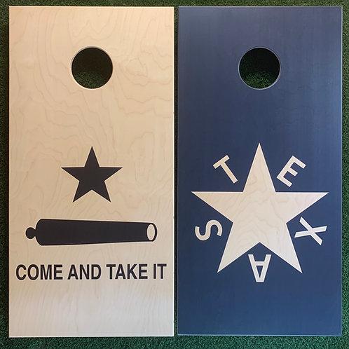 Cornhole Game-Republic of Texas/Come and Take It