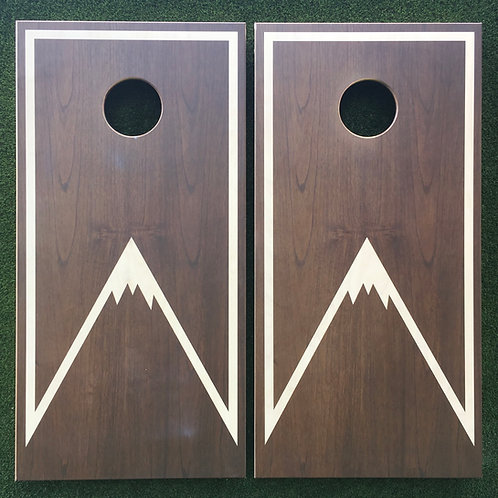 Cornhole Game-Modern Mountain