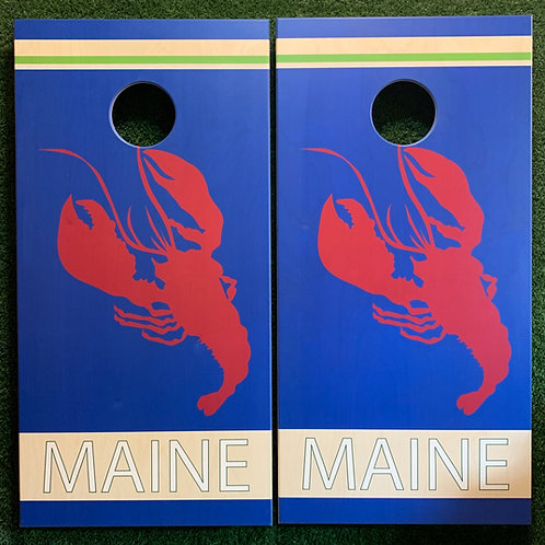 Cornhole Game-Maine Lobster