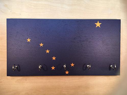 Alaska Flag Key Holder