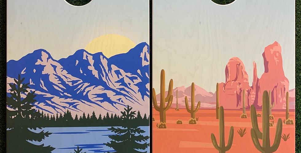 Cornhole Game-Arizona and Colorado